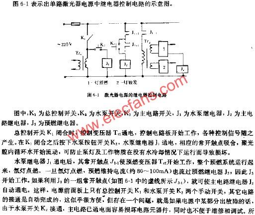整机通电顺序控制电路图