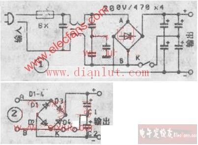 220v转110v电路图_电子设计应用_电子设计产品方案