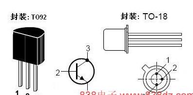 NPN三�O管2N222���