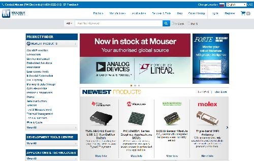 mouser official website