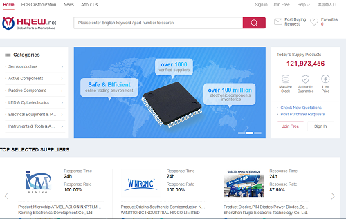 hqew.net( the professional electronic component platform)