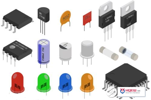 What is electronic components?