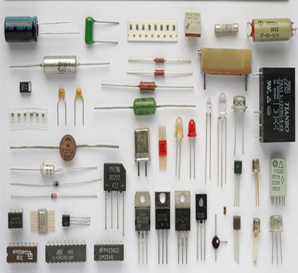 What are the electronic components and their functions