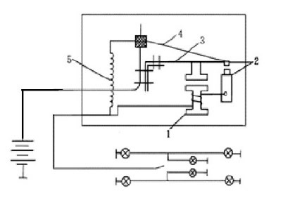汽车的曲轴位置传感器,电磁阀,继电器,电喇叭,喇叭继电器,热线式闪光
