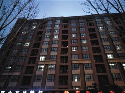 位于郑州豫康新城南区的富士康员工宿舍楼。