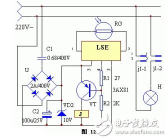 简单的路灯自控电路图大全(光控触发器/ne555/光电控制的七款电路详解
