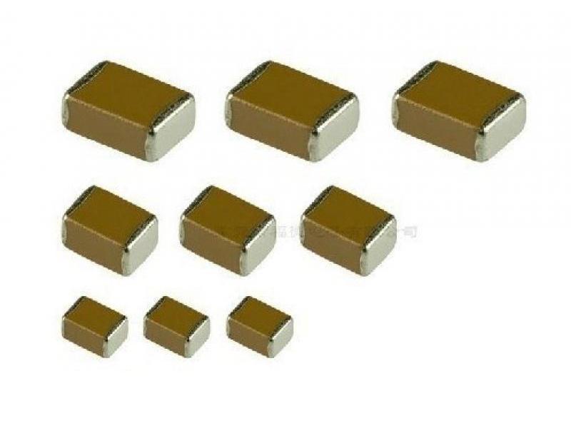 陶瓷电容按照封装不同可分为插件和贴片式.