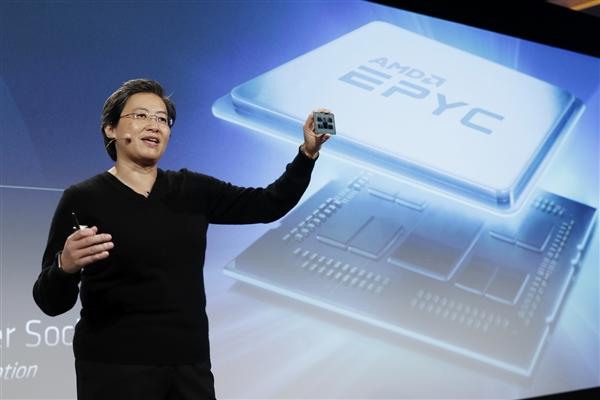 AMD 32核霄龍處理器QS片現身:頻率保守藏大招?