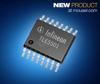 Infineon TLE5501 XENSIV TMR传感器在贸泽开售 一颗芯片即可满足ASIL D级汽车功能安…