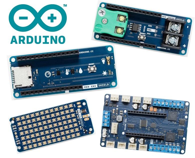 e络盟引入Arduino MKR系列最新扩展板