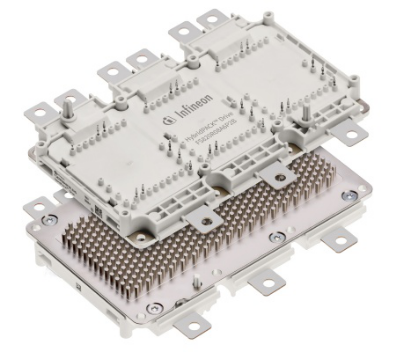 高性能型号亦沿用了HybridPACK? Drive领衔产品的PinFin 基板