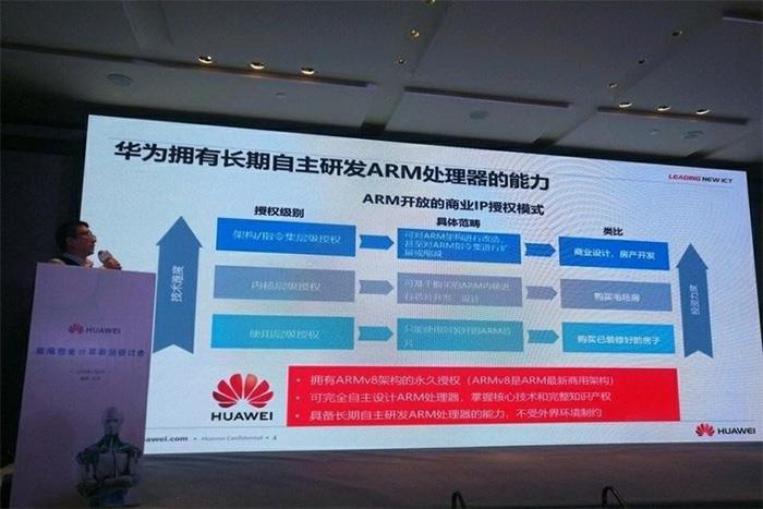 ARM公司中止与华为合作 恐影响未来华为手机发展
