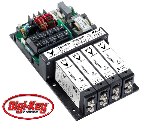 Vox Power Ltd 全系列用户可配置电源通过 Digi-Key 面向全球发售