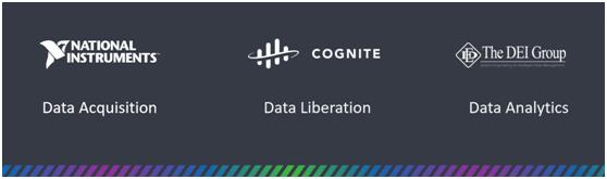 数据是数字化转型的基础,NI与合作伙伴提供完善的数据解决方案。