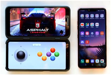 Keyssa技术完美连接LG全新V50ThinQ 5G智能手机中的第二块屏幕
