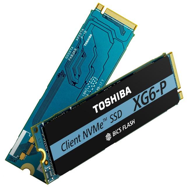 东芝推出XG6-P NVMe PCIe M.2固态硬盘