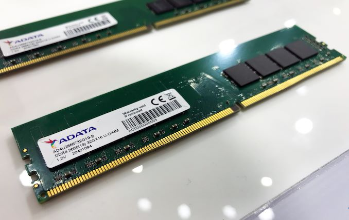 威刚展示单条32GB DDR4内存模组 采用美光16Gb颗粒威刚展示单条32GB DDR4内存模组 采用美光16Gb颗粒