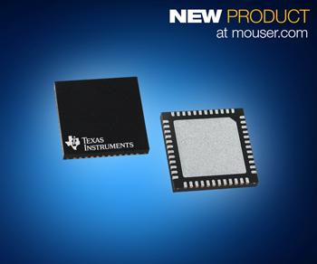 贸泽推出配备BAW 谐振器的Texas Instruments 超低抖动LMK05318时钟