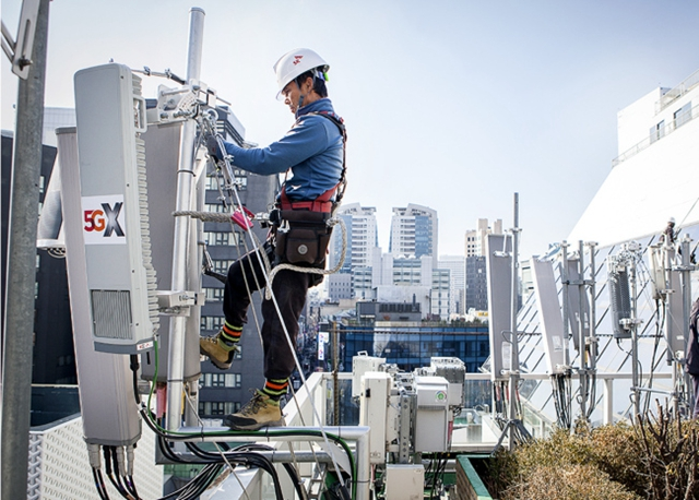 华为助力LG U+5G速率韩国排名第一