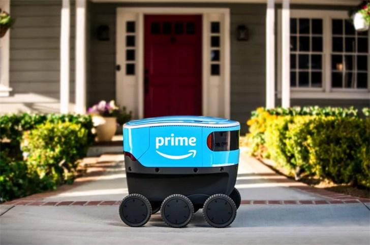 亚马逊:无人送货机器人Scout将在加州测试