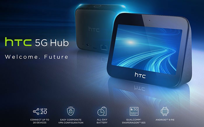 EE推出英国首个5G移动宽带,采用HTC设备