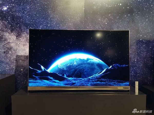 海信全球首发叠屏电视:突破液晶电视天花板?