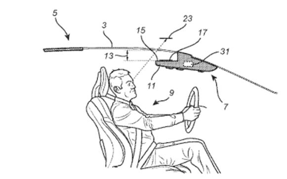 沃尔沃新专利:车顶HUD抬头显示器 或将用于自动驾驶