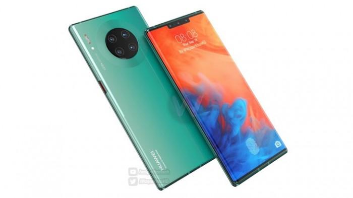 LG有望为华为Mate 30系列供应OLED面板:瀑布曲屏概率大