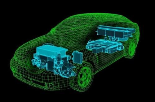 """国家新能源汽车技术创新中心无人驾驶汽车正式""""开跑"""""""