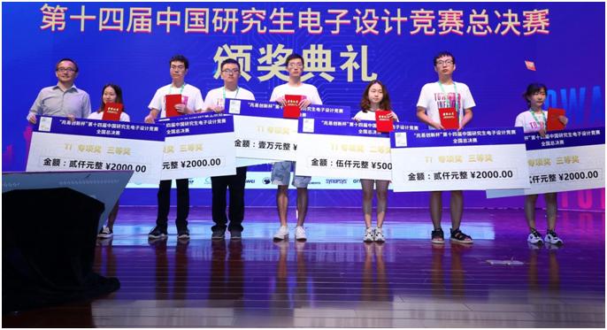 第十四届中国研究生电子设计竞赛圆满落幕,TI企业命题获奖名单出炉