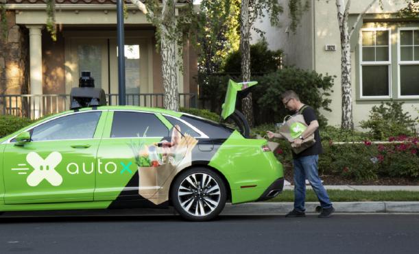 自动驾驶,AutoX自动驾驶,AutoX测试牌照