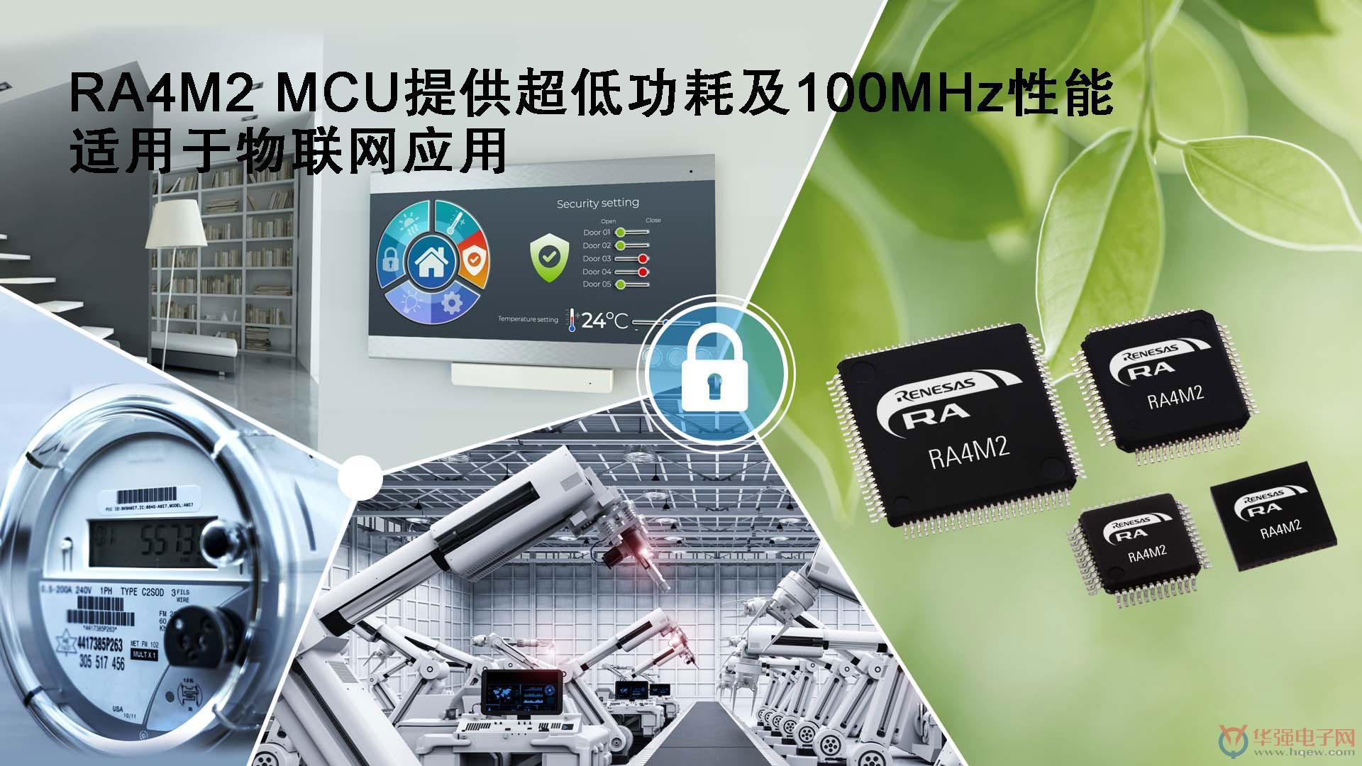 RA4M2-MCU提供超低功耗及100MHz性能,适用于物联网应用.jpg