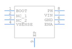 TPS5450DDAR引脚图
