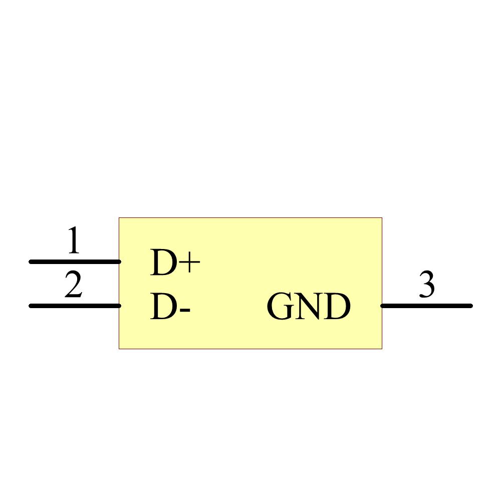 TPD2EUSB30DRTR引脚图