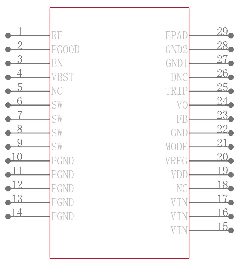 TPS53515RVER引脚图