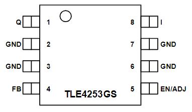 TLE4253E引脚图