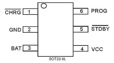 TP4057引脚图