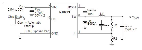RT8279GSP引脚图