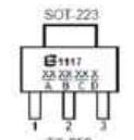BL1117-33CX引脚图
