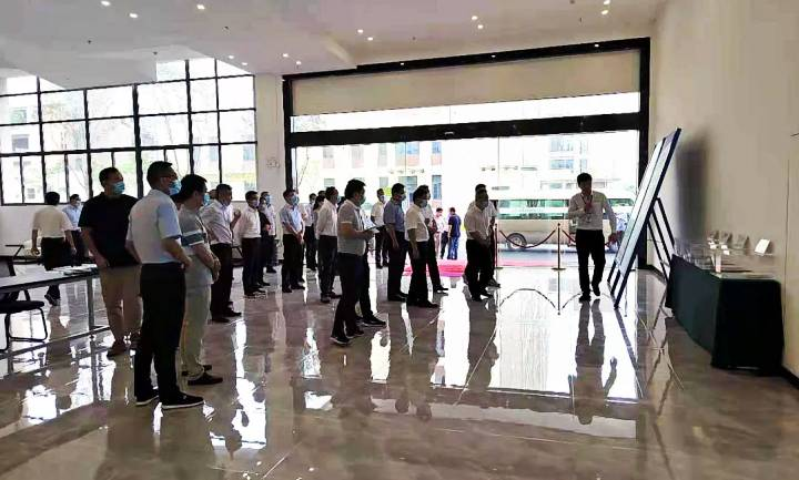 马鞍山市委书记张岳峰一行来访富捷电子 共商行业发展技术升级
