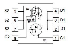 FDMS3669S引脚图