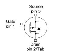 IPD50P04P4L-11引脚图