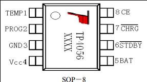 TP4056 Pin