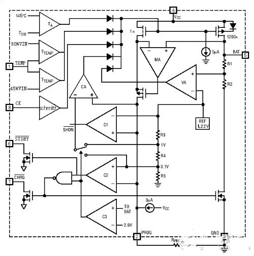 TP4056 circuit