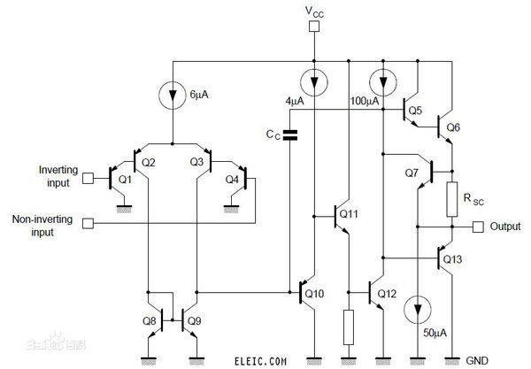 LM358内部电路图